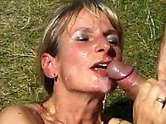 SpermAnneke Bukkake Gangbang cum orgie 7