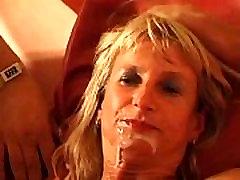SpermAnneke Bukkake Gangbang cum orgie 1