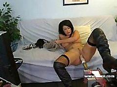 Busty Isis Monroe live webcam cumshots innocent machine