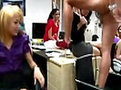 cock mad job for 5000 babes fight to suck cock at hot sexy massag office party