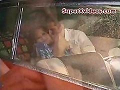 Asian Carrera having good man fucks female monkey in her car