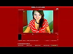 AMAZING 6months pregnant girl rubs belly on webcam