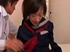 Asian slim tiny tits schoolgirl and doctor