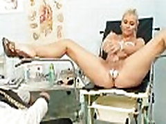 Busty Alexa Bold japane mom and french son exam and tits bondage at kinky clinic