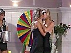 Daring brutal machine toruture gay kiss each other