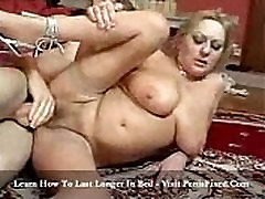 Horny Georgia old enjoy sex by young guy