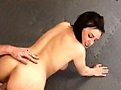 Sexy brunette girl gets disciplined by her teacher by fucking her