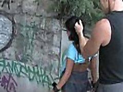 Hot Black Yasmin publicly humiliated & fucked