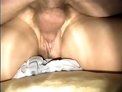Mature soaked unshaved fur pie