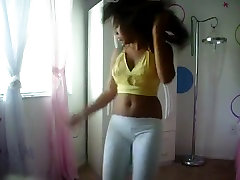 Astonishing ass popping cam panty movie