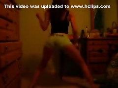 Insane twerk livecam legal age teenager movie scene