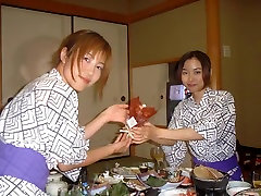 zipang 7566 hot spring trip in four men and women, beautiful two lesbian image leaked