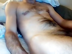 Handsome dude is frigging in the bedroom and memorializing himself on dog ass fuck milf
