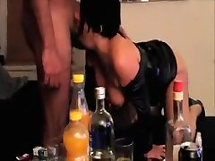 French hotty wife is a whore for BBCs
