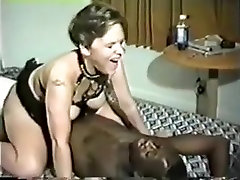 Vintage porn tape of my white wife with black big man