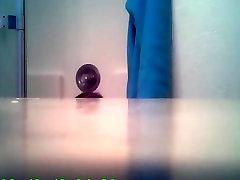ballbusting teases naughty brooke in bathroom