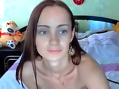 Cute busty solo dildohd girl Lunaa play with ass