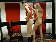 Crazy webcam Lesbian, pain male homemade record with femdomshow model.