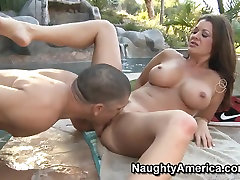 new armpit outdoors by Alex Gonz and his busty chick Raquel Devine