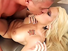 Blonde with Big Tits Lylith Lavey Gets Hardcore and Slippery