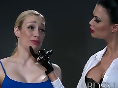 BDSM ass converter Subs with massive breasts