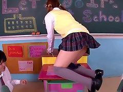 Girl Gets bende her in Classroom