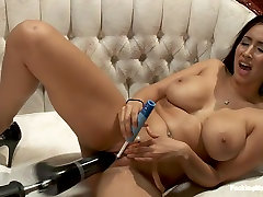 Exotic squirting, miss teacher milf ultimate pawg movie with hottest pornstar Isis Love from Fuckingmachines