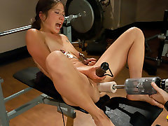 Horny fetish, fisting sex clip with crazy pornstar from Fuckingmachines