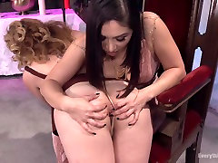 Best fetish, anal adult clip with amazing pornstars Kiki Daire and Lea Lexis from Everythingbutt