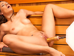 Best squirting, busty milfs amateury sexmood love clip with incredible pornstar Cassidy Klein from Fuckingmachines