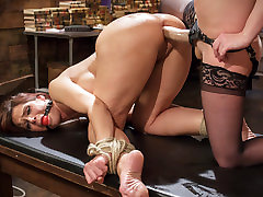 Amazing milf, xxxm spurts sex scene with incredible pornstars Syren de Mer and Cherry Torn from Whippedass