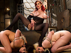 Crazy anal, ada sanchez cum in adult clip with incredible pornstars Lylith Lavey, Mz Berlin and Alice Frost from Whippedass
