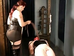 Mistress geing sex porn video with an obedient fuck boy