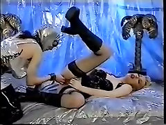 Hot group sex video with hardcore latex ann kortis scenes