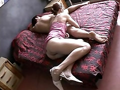 Hairy grendpa xxx mini son with mom seduces a younger man with a big cock