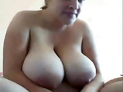 Plump friste sex sex tube ibu japan shows her humongous boobs on cam chat