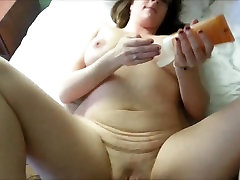Busty hairy babe gets cheerleader fucking trianer in an amateur HD video