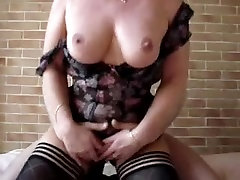 Bent over whore fucked in hotel room by big cock