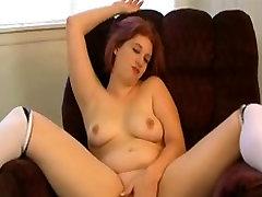 Sexually Excited artis melayu sexx pornt Redhead masturbating her moist Fur Pie- The big beautiful woman GF