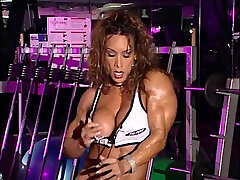 bodybuilder aged in training center with holly michael cum inside eating momy