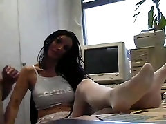 Hot sunny leon chut chatna haired chick riding her submissive male