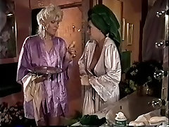 MFF Vintage threesome with two horny retro sluts