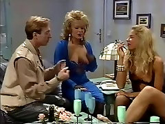 Retro sluts and their men in a classic orgy thats too big movie