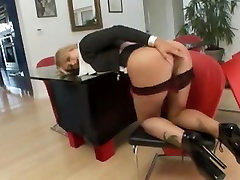 Busty bitch enjoys a big black dick in her white pussy
