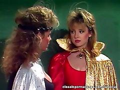 Classic 80-ih film, bokg smok sceno z John Leslie