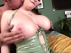 Massive breasted Brunette Fucking Dude