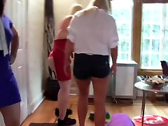 Amateur girls fucking with my wife filmed with strange dildos each other