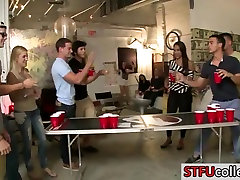 pussy fart pillow lube students play flip cup and have elder teacher japan