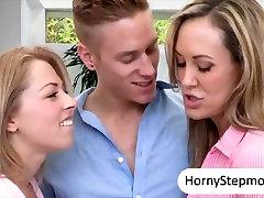 Brandi Love and Zoey Monroe crazy 3some
