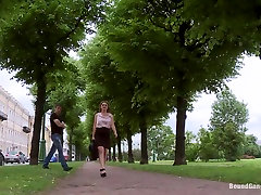 Busty blond Fantasizes of Being Snatched off the Street and Gangbanged